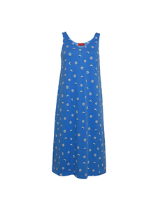 Sommerkleid mit Blumenprint ohne Ärmel - Nadja - ROSALIE