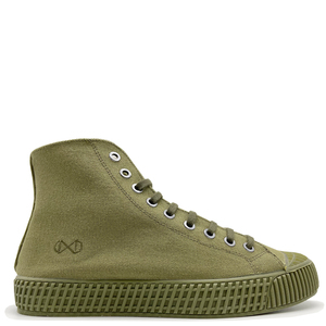 """Veganer Sneaker """"nat-2 Mono"""" aus zert. Biobaumwolle, Bambus, Kork, Zuckerrohr und rec. Gummi - nat-2"""