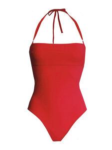 Swimsuit No.2 - Bandeau Badeanzug mit abnehmbaren Trägern - RENDL