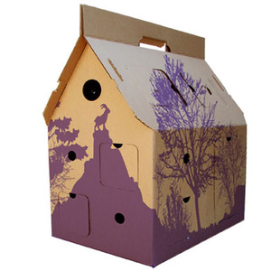 Mobile Home Recycle! purple - Kidsonroof