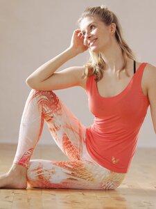 Yoga Top Sati Coral - Kismet Yogastyle