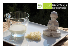 BIO Kefir / Milchkefir Getränk mit Kefirpilzen für 250ml Kefirdrink - Natural-Kefir-Drinks