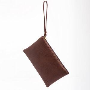 NAE Lena Micro Brown - Vegane Handtasche Geldbörse aus vegane Leder - Nae Vegan Shoes