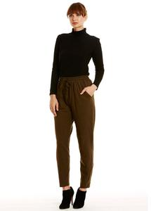 Tasha Jersey Trousers Khaki - People Tree