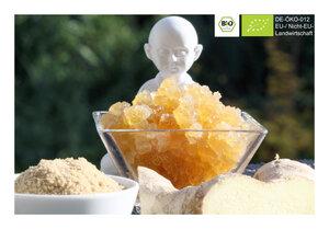BIO Ginger Root Getränk mit 30g Kefirkristallen für 1 L Ingwerlimonade - Natural-Kefir-Drinks