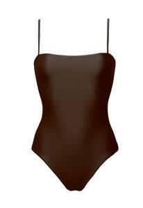 Swimsuit No.8 - Minimalistischer Badeanzug mit Spaghetti Trägern - RENDL