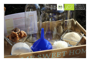 BIO Kefir / Wasserkefir Komplettset Starterset mit Japankristallen - Natural-Kefir-Drinks