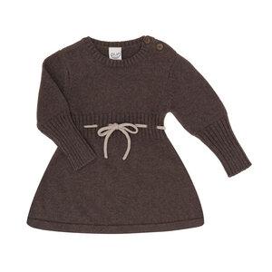 Puri Organic Kleinkinder Kleid Kordel Bio Baumwolle Schurwolle Strick - Puri Organic