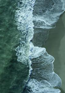 Wild Waves - Poster von Studio Na.hili - Photocircle