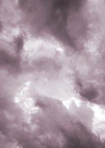 Blush Clouds - Poster von Studio Na.hili - Photocircle