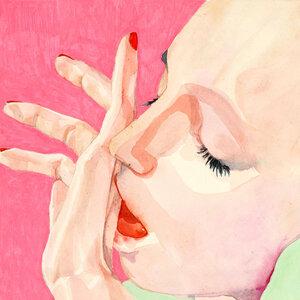 Behind closed doors - Poster von Sophia Novosel - Photocircle