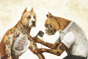 The Tattooist - Poster von Mike Koubou - Photocircle