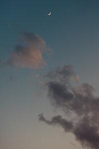 Crescent Moon - Poster von AJ Schokora - Photocircle