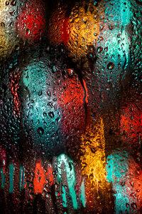 Rainy Day Views - Poster von AJ Schokora - Photocircle