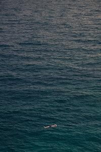 Deep Ocean Solitude - Poster von AJ Schokora - Photocircle