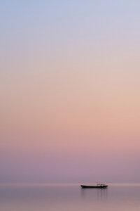 Still Waters of Lake Tai - Poster von AJ Schokora - Photocircle