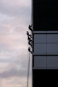 Men at Work - Poster von AJ Schokora - Photocircle