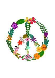 Peace - Poster von Frankie Kerr-Dineen - Photocircle