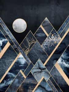 Stormy Mountains - Poster von Elisabeth Fredriksson - Photocircle
