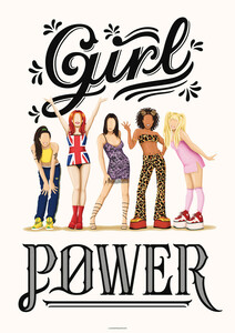 Girl Power - Poster von Draw Me A Song - Reviews - Photocircle