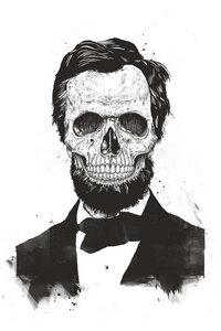 Dead Lincoln - Poster von Balazs Solti - Photocircle