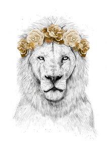 Festival lion - Poster von Balazs Solti - Photocircle