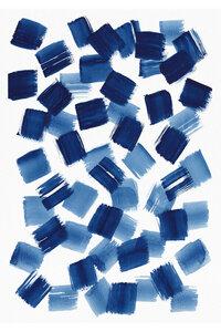 Abstract Brushstrokes No. 1 - Poster von Cristina Chivu - Photocircle