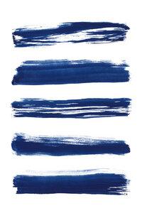 Abstract Brushstrokes No. 2 - Poster von Cristina Chivu - Photocircle