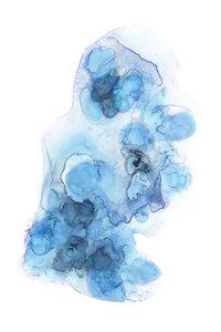 Abstracto Flow No. 3 - Poster von Cristina Chivu - Photocircle