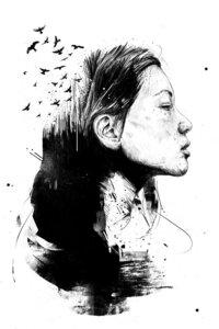 Open your mind - Poster von Balazs Solti - Photocircle