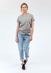 Jeans Relaxed Fit - Boyfriend Basin - Light Stone - Mud Jeans