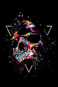 Skull X - Poster von Balazs Solti - Photocircle