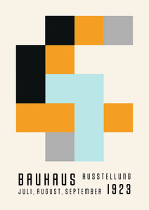 Bauhaus 1923 - Poster von Bauhaus Collection - Photocircle