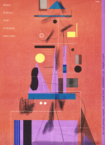 Speed, service, and superior printing - Poster von Vintage Collection - Photocircle