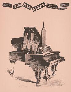 Tin Pan Alley - eine Revue der Popmusik - Poster von Vintage Collection - Photocircle