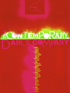 The contemporary dance company - Poster von Vintage Collection - Photocircle
