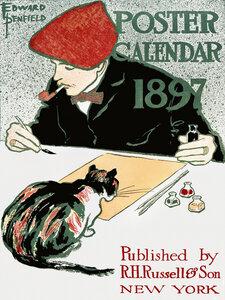 Posterkalender von Edward Penfield - Poster von Vintage Collection - Photocircle