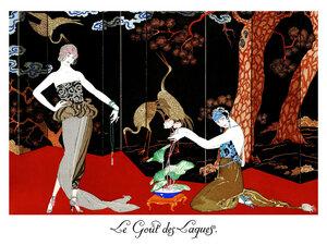 Les Gout des Laques - Poster von Vintage Collection - Photocircle