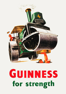 Guinness For Strength - Poster von Vintage Collection - Photocircle