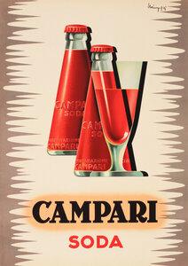 Campari Soda - Poster von Vintage Collection - Photocircle