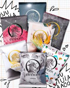 Vegane Kondome  - Einhorn