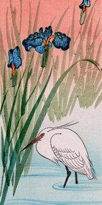 Reiher - Poster von Japanese Vintage Art - Photocircle