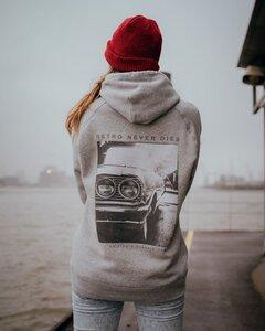 DRIVING A CLASSIC CAR - ORGANIC HOODIE - Hityl