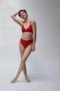 Mittelhohes Höschen mit hoch geschnittenem Bein BOTTOM No.6 - MARGARET AND HERMIONE Swimwear Vienna