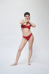Bandeau-Bikini Top mit abnehmbaren Spaghetti-Trägern TOP No.1 - MARGARET AND HERMIONE Swimwear Vienna