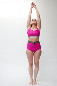 Bikini Top mit quadratischem Ausschnitt TOP No.8 - MARGARET AND HERMIONE Swimwear Vienna