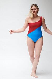 Badeanzug - asymmetrischer Schnitt & minimalistische Silhouette SWIMSUIT No.8 - MARGARET AND HERMIONE Swimwear Vienna