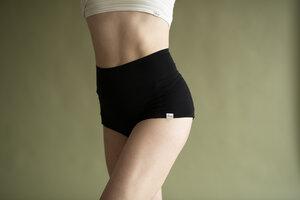 Breath - High Waist Shorts - Lyocell - Leva Wear