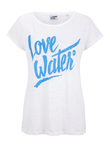 Love Water Shirt Ladies Leinen - HYDROPHIL