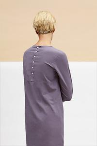 Button Dress aus Bio-Batist - LUXAA